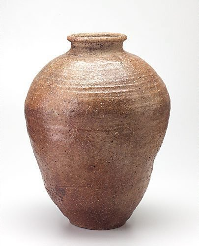 An image of Storage jar by Shigaraki ware