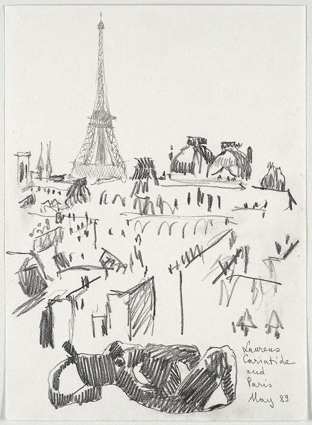 An image of Laurens 'Caryatide' and Paris