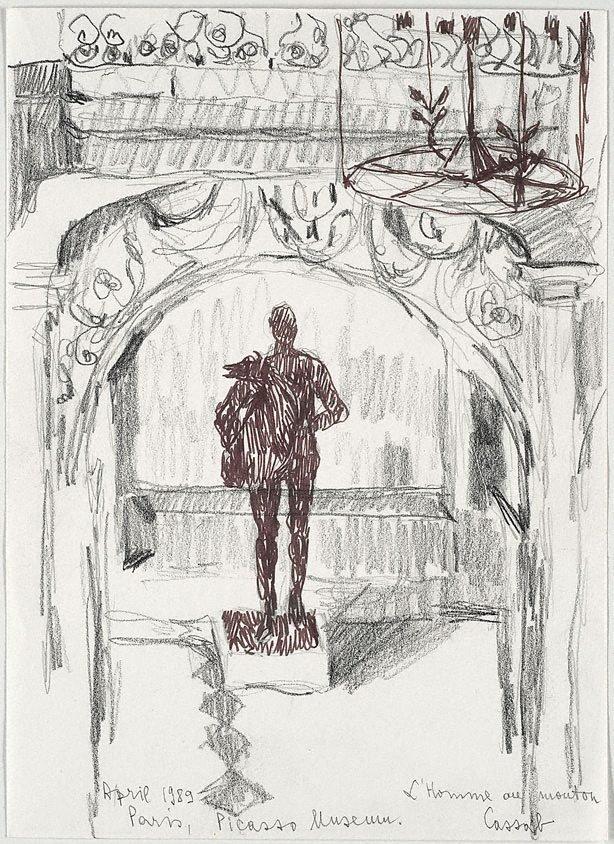An image of 'L'Homme au mouton', Picasso Museum, Paris