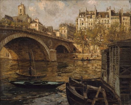 An image of Pont Philippe IV, Paris by Will Ashton