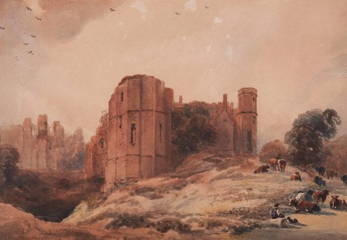 An image of Kenilworth Castle by Peter DeWint