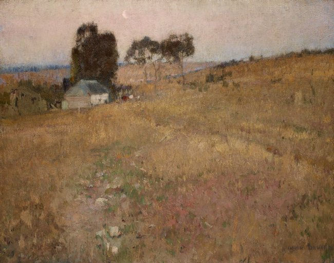 AGNSW collection David Davies A summer evening (circa 1895) 866