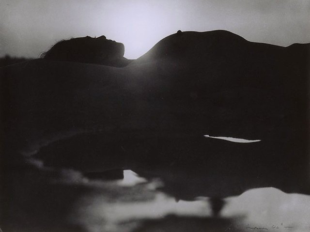 An image of Untitled (Reclining silhouette)