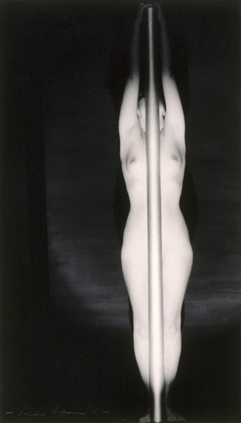 An image of Untitled (Nude with pole) by Max Dupain