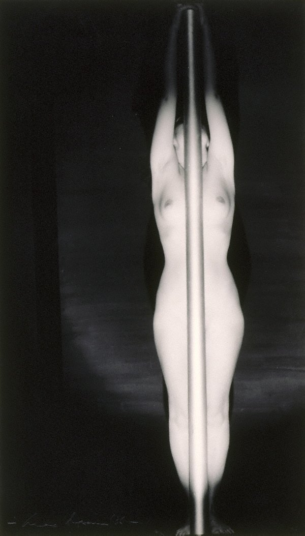 An image of Untitled (Nude with pole)