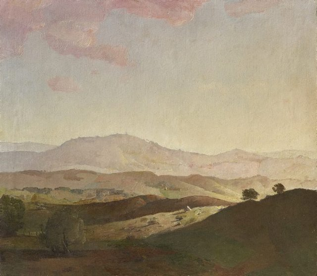 An image of Evening on the Bathurst Hills