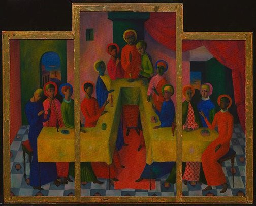 An image of The last supper by Justin O'Brien