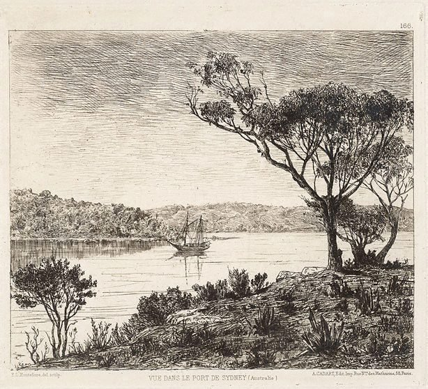 An image of A view of Sydney Harbour