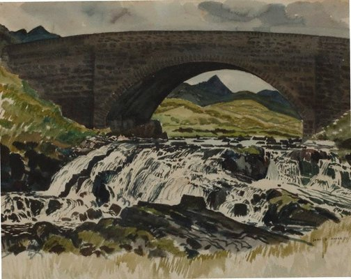 An image of Scottish landscape by John D. Moore