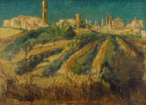 An image of Landscape near Tarquinia, Italy by Charles Bush