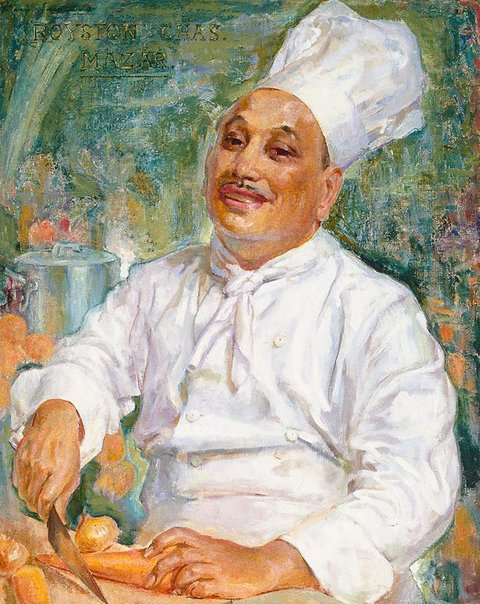 An image of Chef Mazar by Mary Edwell-Burke