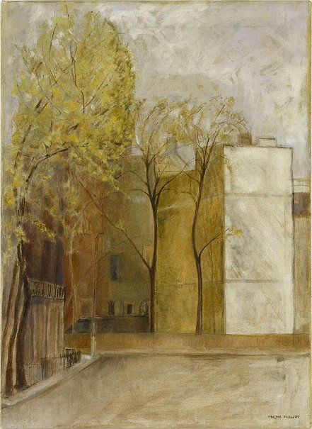 An image of Mecklenburgh Square by Thelma Hulbert