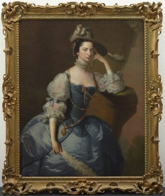 Alternate image of Margaret Oxenden by Joseph Wright of Derby