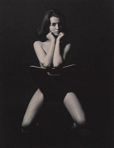 Christine Keeler, London, (1963, printed later) by Lewis Morley