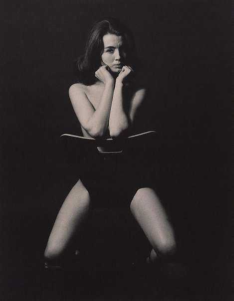 An image of Christine Keeler, London by Lewis Morley