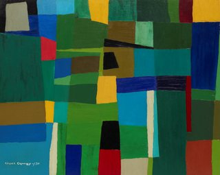 AGNSW collection Grace Crowley Abstract painting (1950) 8720
