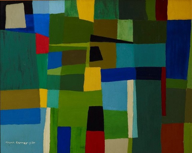 Abstract painting, (1950) by Grace Crowley