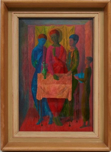 An image of Supper at Emmaus by Justin O'Brien