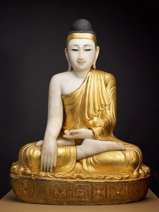 AGNSW collection Shakyamuni Buddha (early 20th century) 88.2012