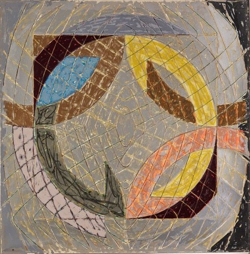 An image of Polar coordinates VIII by Frank Stella
