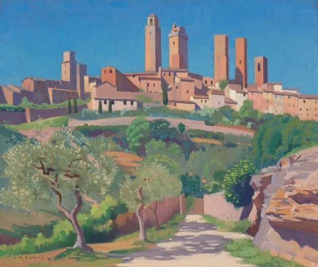 An image of The towers of San Gimignano