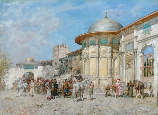 An image of Horse market, Syria