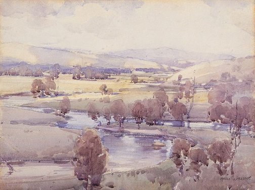 An image of Acheson Valley by Harold Herbert