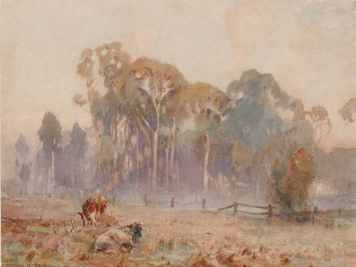 An image of Landscape by Hans Heysen