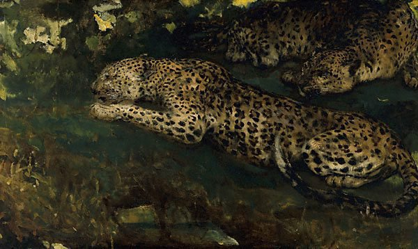 An image of Study of East African leopards