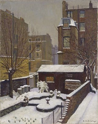 AGNSW collection Douglas Dundas Snow in Kensington (1952) 8978