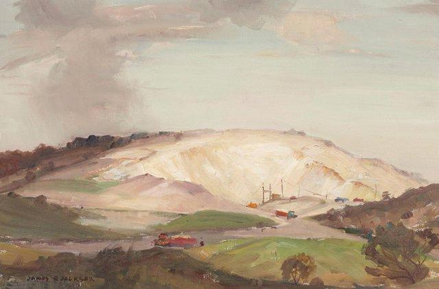 An image of Sunlit sandhills