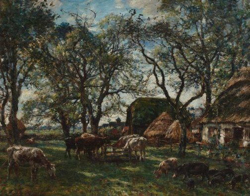 An image of A Hampshire farm by Mark Fisher