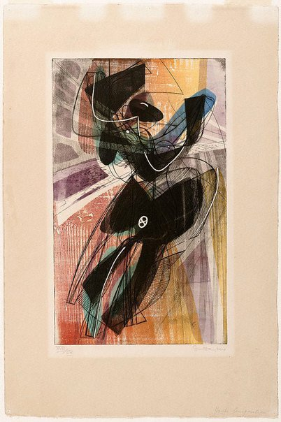 An image of Composition by Stanley Hayter