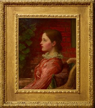 AGNSW collection George Frederic Watts Alice (1883) 984