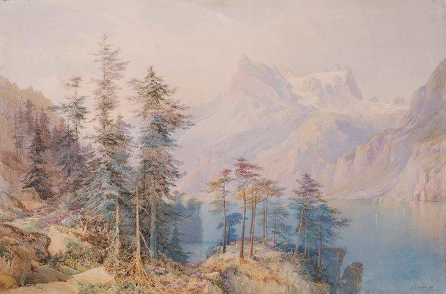 An image of Lake Lucerne