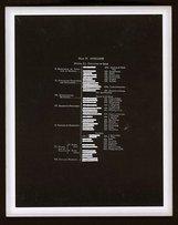An image of Six negatives by Mel Ramsden, Ian Burn
