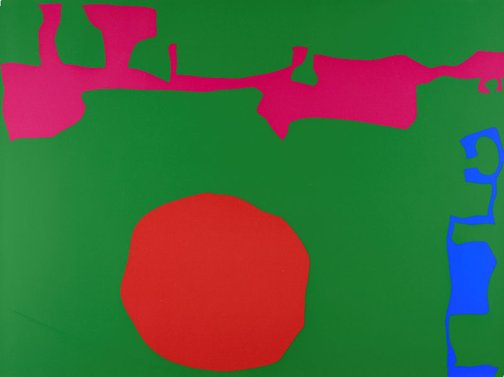 An image of January 1973 : 11 by Patrick Heron