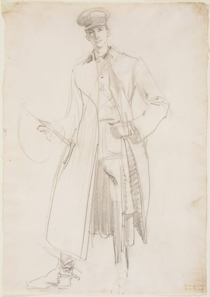 An image of Lieut. The Hon. Philip Howard by George W Lambert