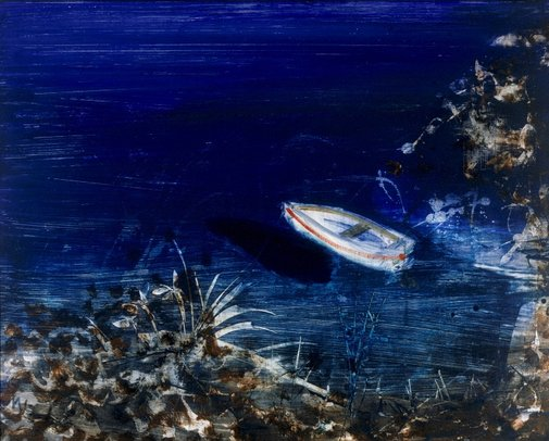 An image of Boat by Sidney Nolan