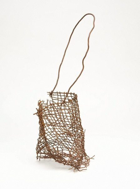 An image of Narbong (string bag) by Lorraine Connelly-Northey