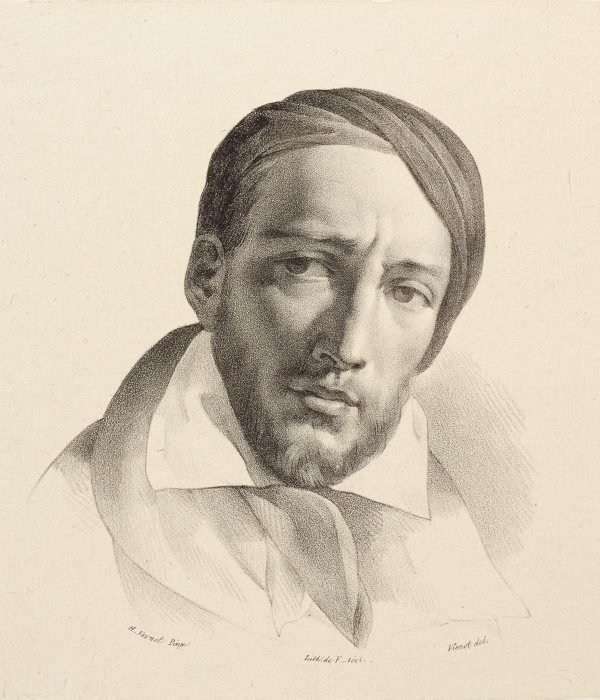An image of Portrait of Gericault