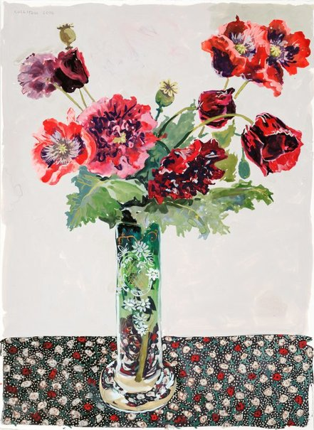 An image of Poppies by Lucy Culliton