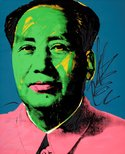 Alternate image of Mao by Andy Warhol