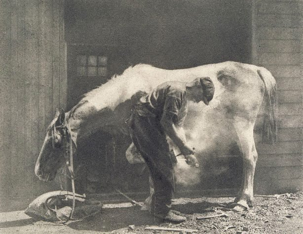 An image of The blacksmith at St Ives