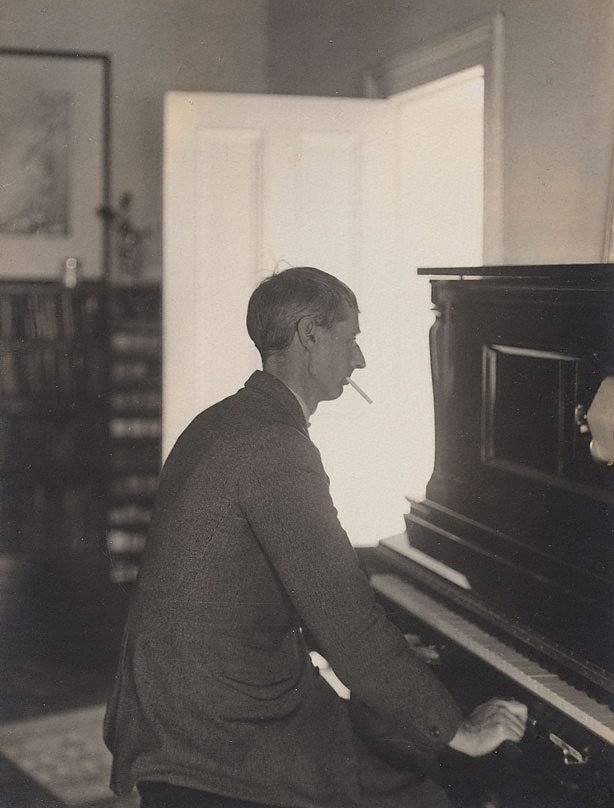 An image of Untitled (Portrait of Norman Lindsay at the pianola)