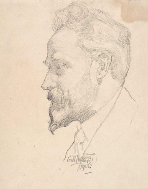 An image of Arthur Streeton by George W Lambert