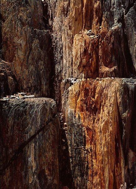 An image of Queenstown rocks No. 5, Tasmania by David Moore