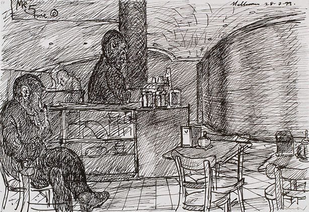 An image of Coffee bar, Melbourne