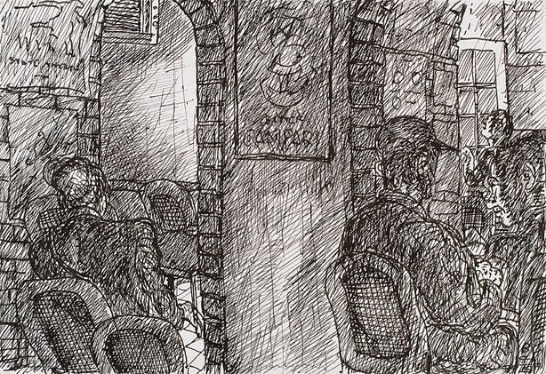 An image of Two archways, Bill and Toni's, Stanley Street, East Sydney