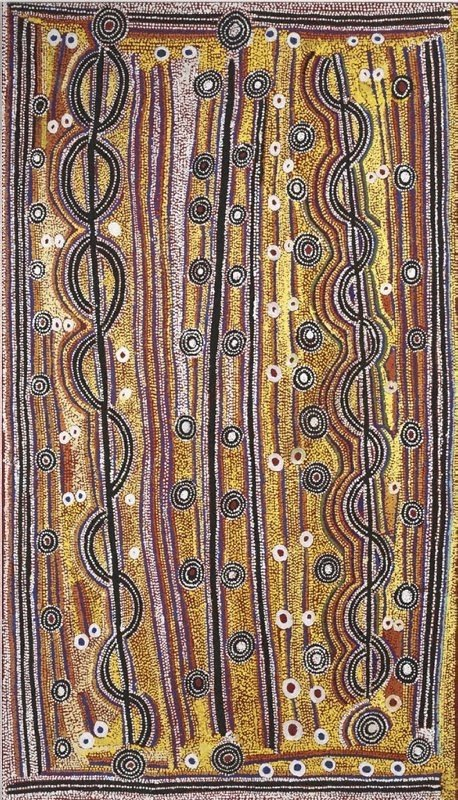 An image of Yanjirlpirri Jukurrpa (Star Dreaming)